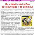 Du détail de Le Pen au sauvetage de Zemmour oct 2014