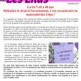 Tract loi veil maternité des Lilas nov 2014